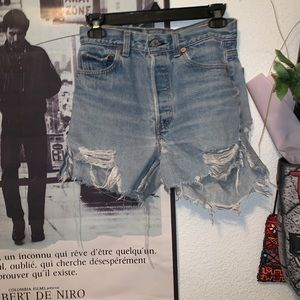 Vintage 1990s Levi's high waisted shorts